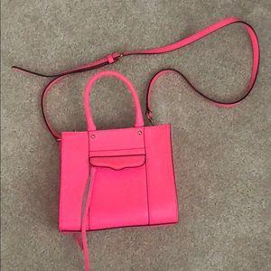 Neon Pink Mini MAB Rebecca Minkoff